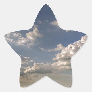 City Landscape View Star Sticker