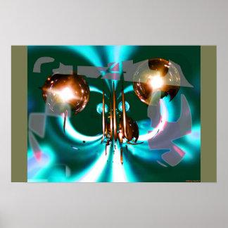 City Lantern Mix 1 Poster
