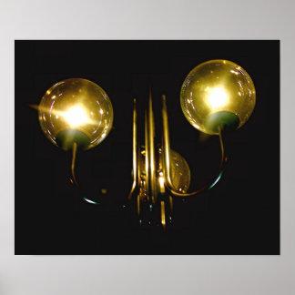 City Lanterns Poster