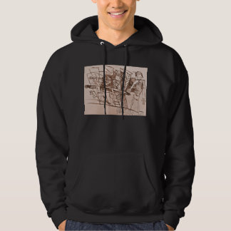 CITY LEAD HOODED PULLOVER