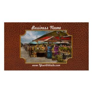 City - Lexington market, Baltimore, Maryland 1890 Business Card