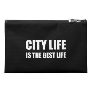 City Life Best Life Travel Accessory Bag
