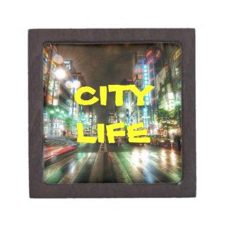 CITY LIFE COLLECTION KEEPSAKE BOX