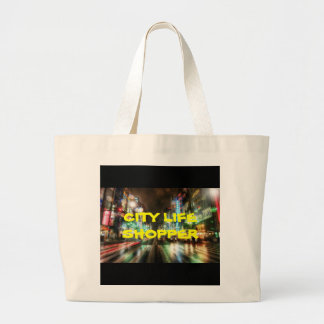 CITY LIFE COLLECTION LARGE TOTE BAG