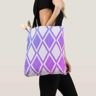 City-Life-Fabric-Floral-Diamond's-TOTES Tote Bag
