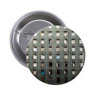 City Life Grey Pinback Buttons