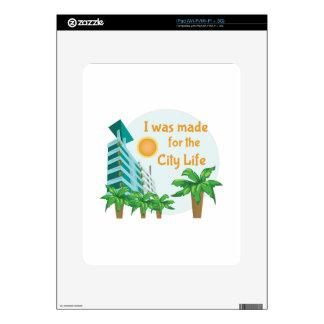 City Life iPad Skin