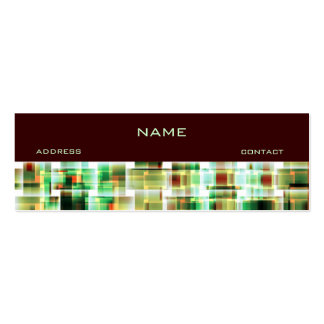city life no2 Double-Sided mini business cards (Pack of 20)