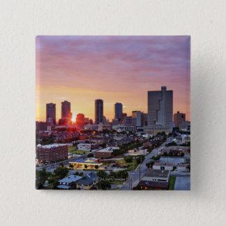 city life, pinback button