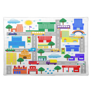 City Life Placemat
