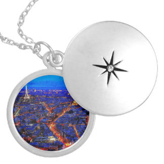 City Life Silver Plated Locket