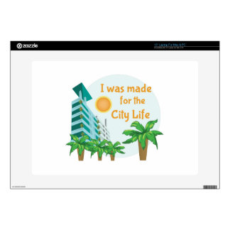 City Life Skins For Laptops