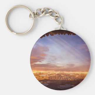 City light keychain