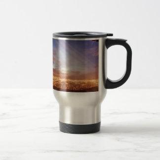 City light travel mug