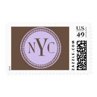 City Lights A by Ceci New York Postage