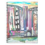 City Lights at Night Notebooks
