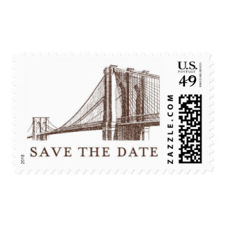 City Lights C by Ceci New York Postage Stamp