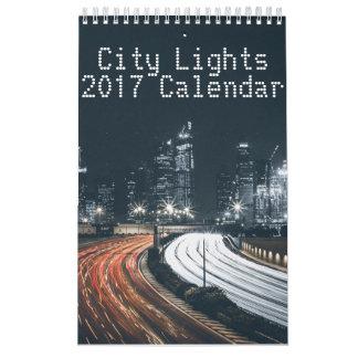 City Lights Calendar 2017