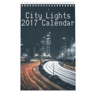 City Lights Calendar 2017
