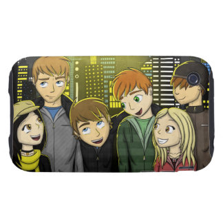 """City Lights"" iPhone 3 Tough Cover"