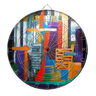 City Lights Dart Board