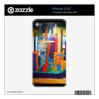 City Lights Decals For The iPhone 4