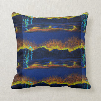 City Lights From The Sea Throw Pillow