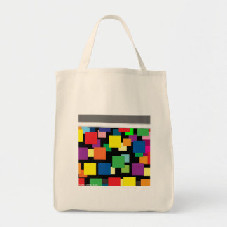 City Lights Grocery Tote Bag