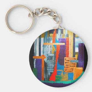 City Lights Keychain