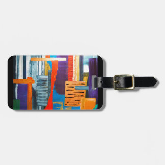 City Lights Travel Bag Tag