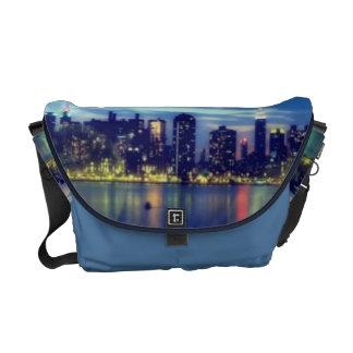 City Lights Messenger Bag