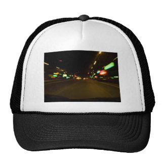 city lights - motion blurry hats