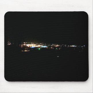 City Lights Mouse Pad