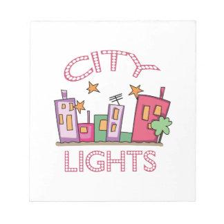 City Lights Notepad