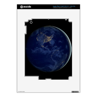 City Lights of the Americas Decals For iPad 3