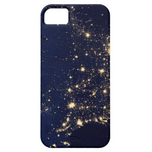 City Lights of the United States iPhone 5 Case