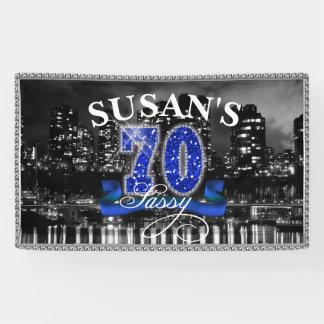 City Lights Sassy Seventy Banner