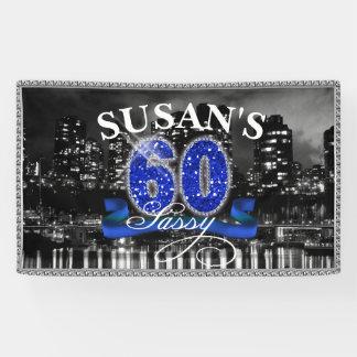 City Lights Sassy Sixty Banner