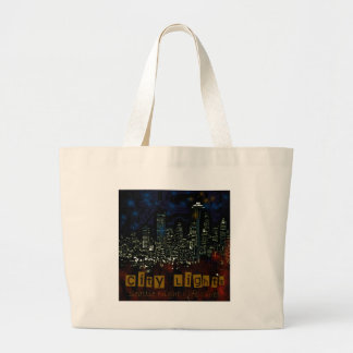 City Lights Seattle Tote Bag