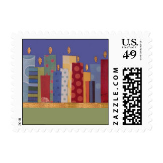 City Lights Stamp