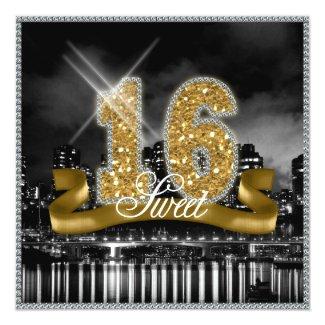 City Lights Sweet Sixteen Gold ID243