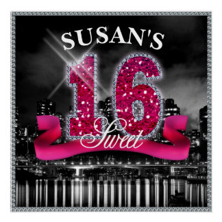 City Lights Sweet Sixteen ID117 Poster
