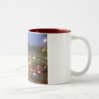 City Lights Two-Tone Coffee Mug