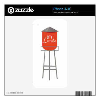 City Limits Skin For iPhone 4S