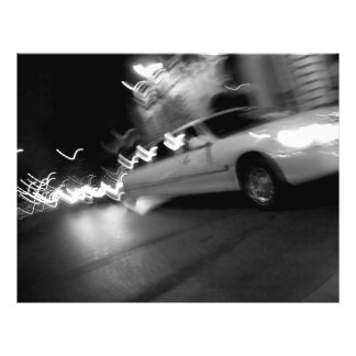 City Limousine at Night Flyer