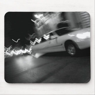 City Limousine at Night Mouse Pad