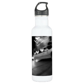 City Limousine at Night Water Bottle