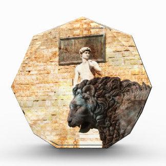 City Lion Acrylic Award
