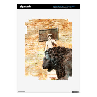 City Lion Decal For iPad 3