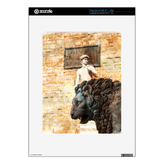 City Lion iPad Decal